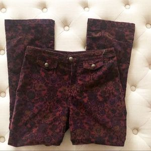 Free People Tailored Corduroy Crop Pants/Size 2